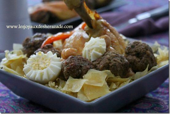 trida , recette algerienne