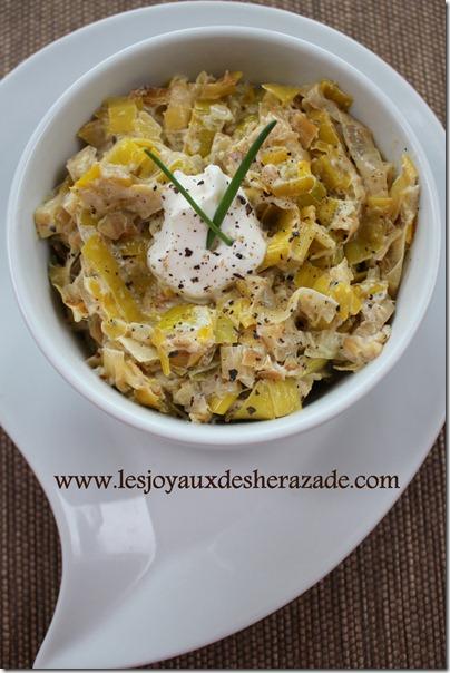 recette de fondue de poireaux facile