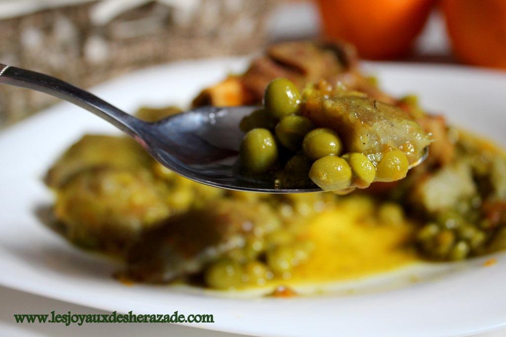 cuisine-algerienne-mar9a-aux-petits-pois-