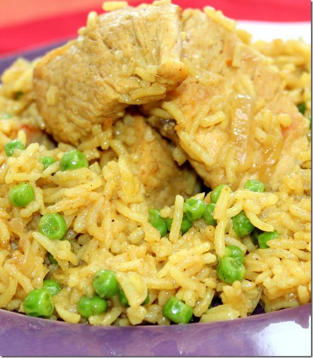 poulet biryani, plat unique