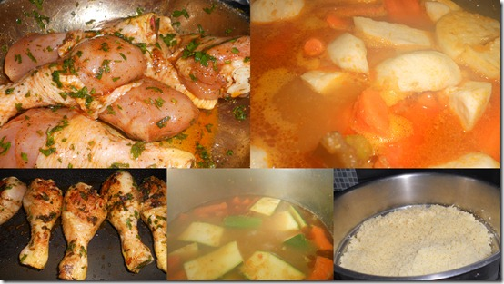 préparation couscous