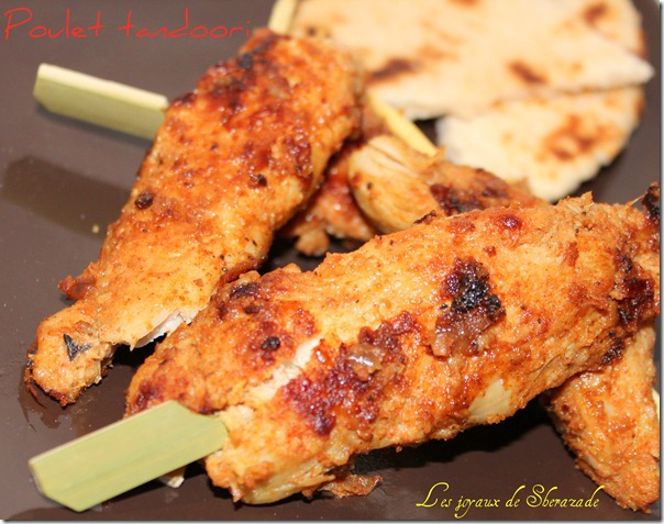 blanc de poulet tandoori