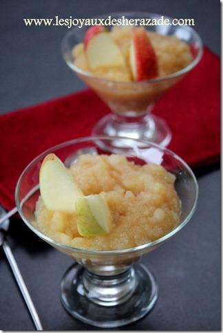 compote aux pommes