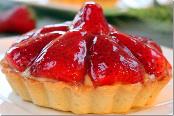 tartelette au fraise de patissier