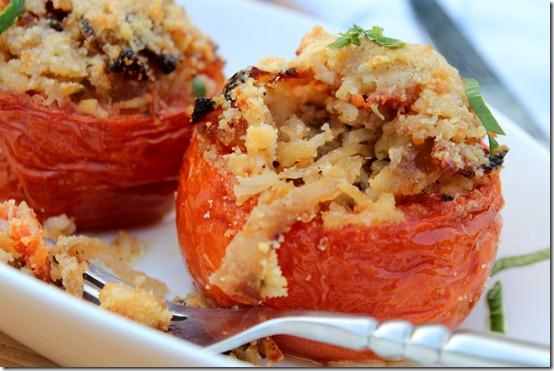 Recette de tomates-farcies