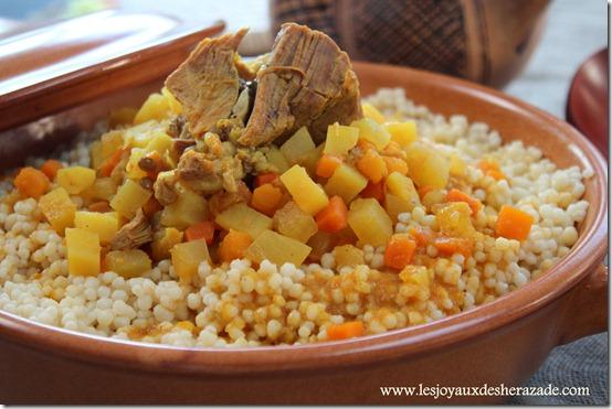 Couscous algérien, el mardoud