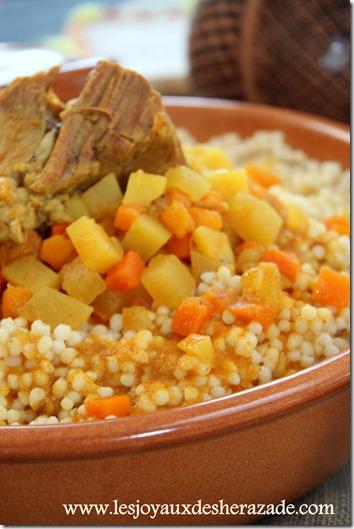 couscous algerien, el mardoud