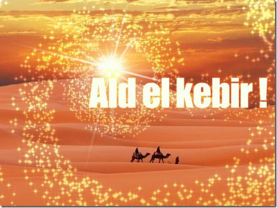 Bonne et joyeuse fête de l'aïd el Kabîr