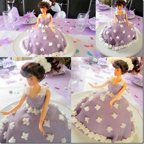 gâteau Barbie, gâteau d'anniversaire