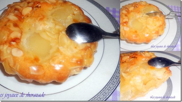 Tartelette amandine aux poires