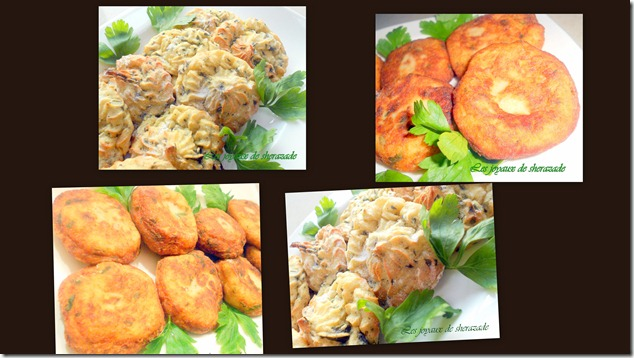 Maakouda (galette de pommes de terre au persil et au cumin)