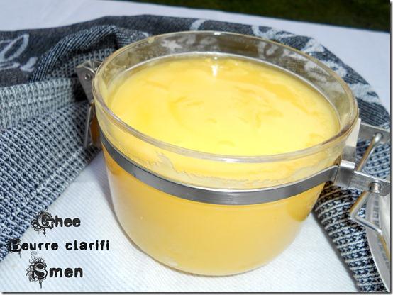 Ghee, Beurre clarifié, recette Smen fait maison