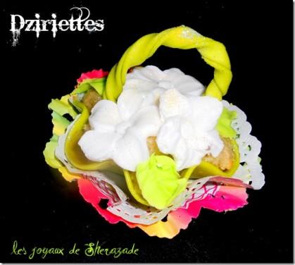 Dziriettes – gâteaux algériens