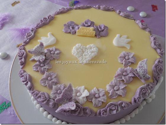 gâteau d'anniversaire de ma fille
