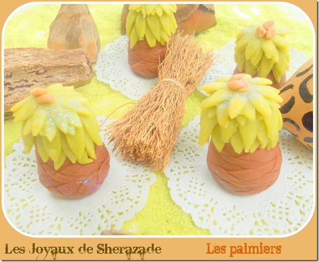 Les palmiers, El nakhil, gâteau algérien moderne
