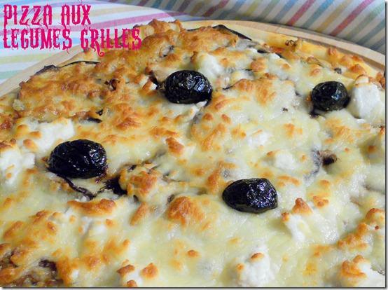 Pizza aux légumes grillés, Pizza végétarienne