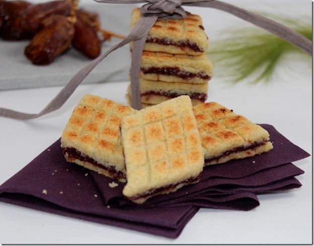 Bradj, gâteau algérien à la semoule et dattes, براج بالتمر