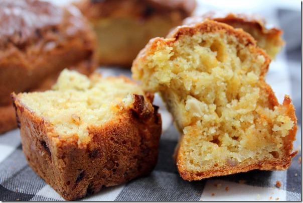 Cake salé : cake poulet-curry