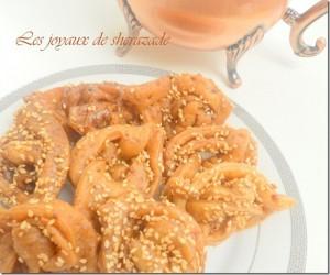 chebakiya de fes, griwech, gateau marocain