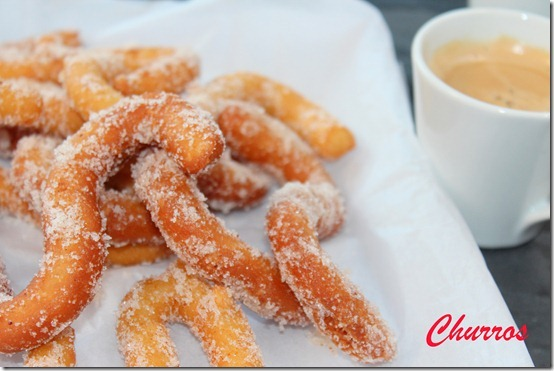 Churros, chichis, recette facile