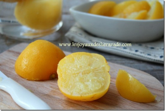 Citron confit comment faire citron confit maison - Comment congeler le persil ...