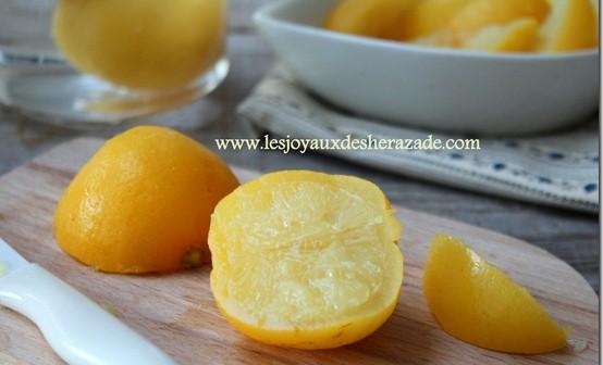 citron confit comment faire du citron confit maison