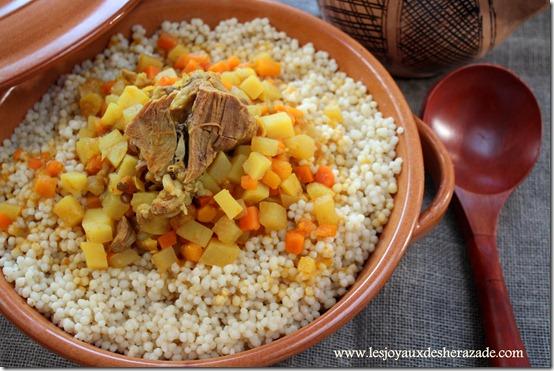 couscous algerien / el mardoud, المردود
