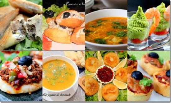 Recette menu ramadan 2012 / entrées