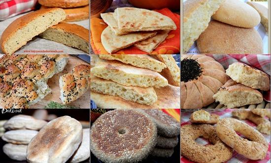 Recette pour ramadan 2015, pain et brioche