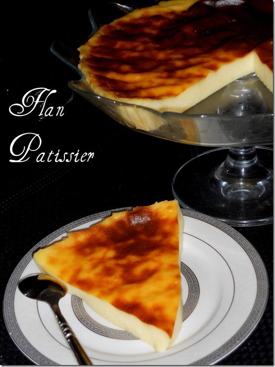 Flan pâtissier sans pâte et délicieux (flan parisien)