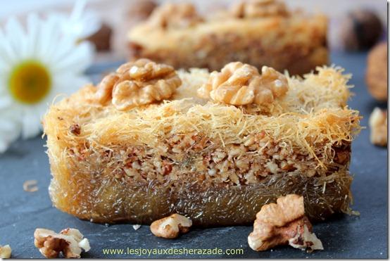 Gâteau algérien - ktaif / قطايف