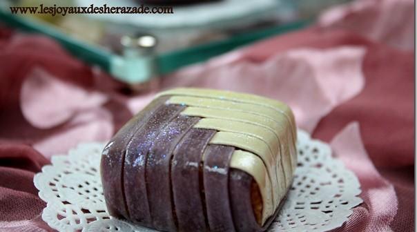 gateau algerien lemkhiddetes , recette de gateau algerien illustrée avec photos