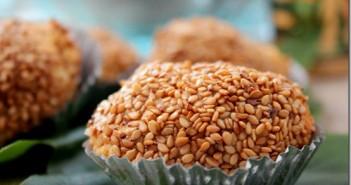 gateau algerien mchewek, gateaux aux graines de sésames