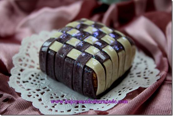 Gâteaux algériens modernes - l'oreiller de la mariée -