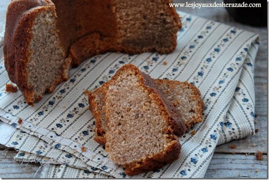 Gâteau à la crème de marron , gâteau ardéchois