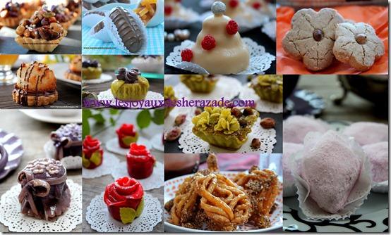 Vœux pour aid el fitr 2012 / mes gâteaux algériens pour l'aid