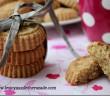 gateau sec à la noix de coco, farine de pois chiches