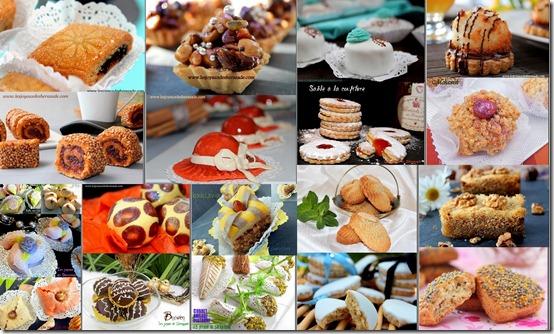 Gâteaux algériens pour l'aid 2012