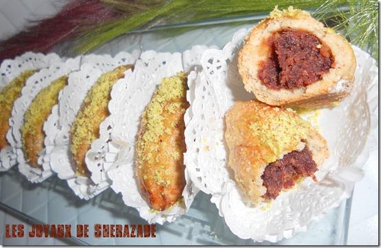 gateau algerien aux dattes
