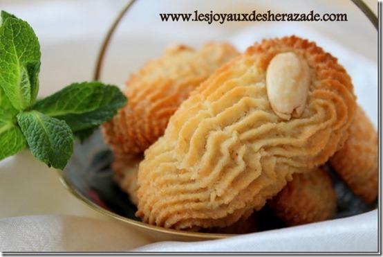 Gâteau algérien facile aux amandes