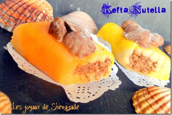 Gâteau algérien sans cuisson, Kefta saveur Nutella