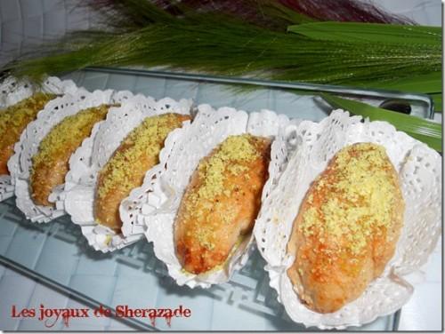 Gâteau sec: maamoul aux dattes et aux noisettes