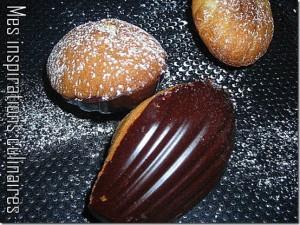 madeleine coque chocolat