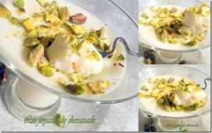mhalabia, dessert pour ramadan, dessert algerien