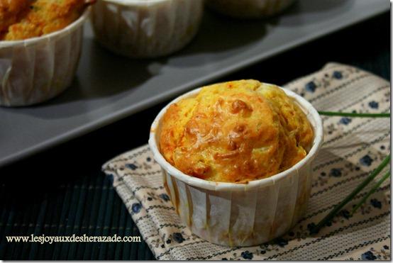 Muffins salés , recette de muffins au surimi