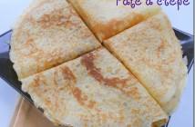 pâte à crepe