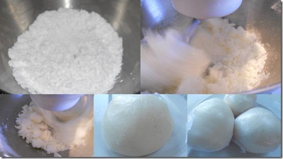 Recette de la pâte à sucre