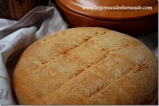 Khobz el koucha – pain maison au four