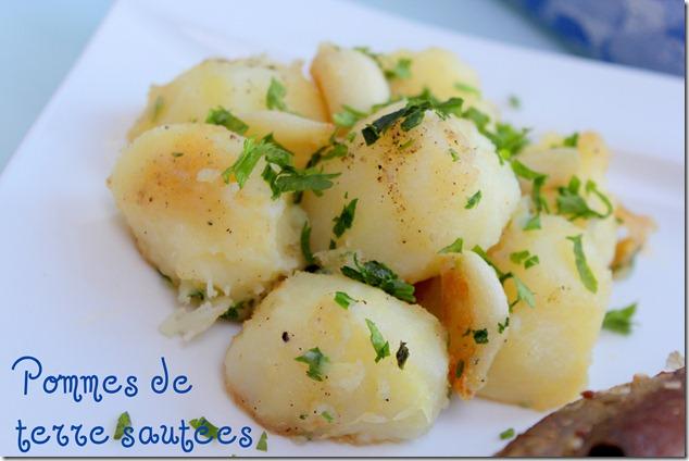 Pommes de terre sautées-fondantes et parfumées à l'ail et au persil