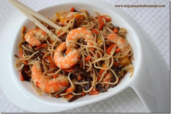 Repas asiatique facile et express